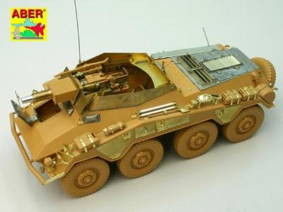 1:35 - Sd.Kfz.234/3 Heavy Armoured Car from Italeri - 6