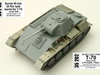 1:35 - T-70 - Radziecki lekki czołg