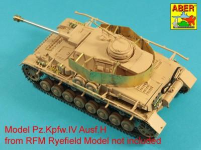 1:35 - Pz.Kpfw.IV, Ausf. H -model from RFM - 3