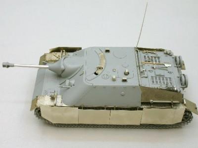 1:35 - Jagdpanzer IV from Dragon - 7