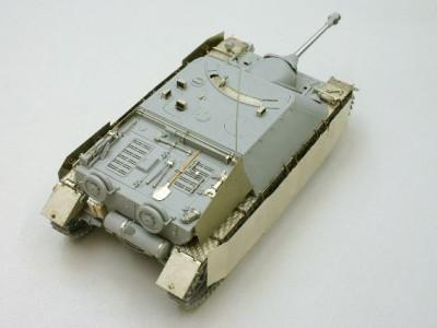 1:35 - Jagdpanzer IV from Dragon - 3