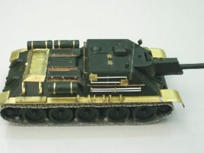 1:35 - Soviet tank destroyer SU122 - 7