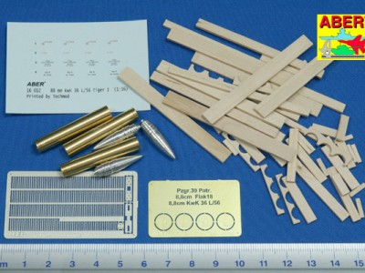 8,8cm Tiger I A/T Ammo with box - 2