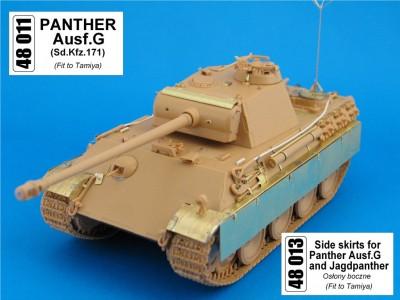 1:48 - Panther from Tamiya
