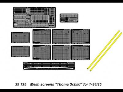 Mesh screens ''Thoma Schild'' for T-34/85