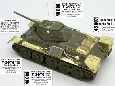1:48 - T-34/76 from Tamiya